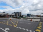 Looking East Across The Disused Car Park