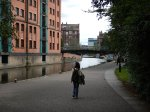 Walking East Along The Canal