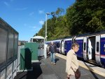 Arrival At Galashiels Station