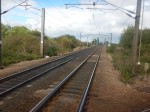 Looking North Up The East Coast Main Line
