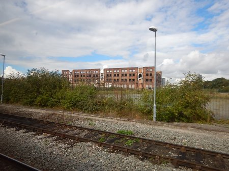 A Derelict Site To The East Of Nottingham Station