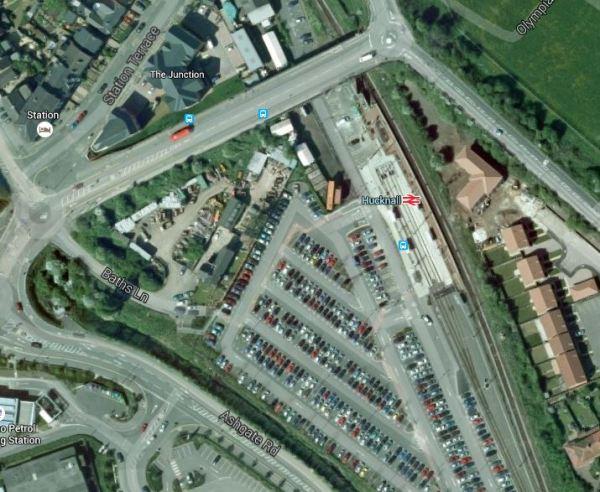 Hucknall Station