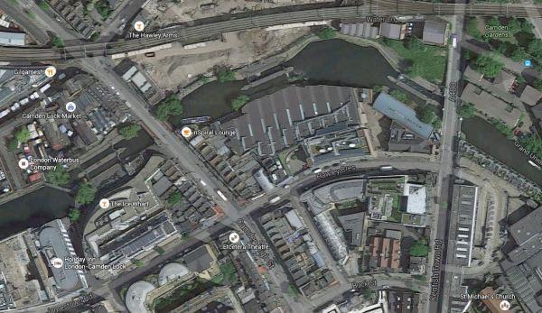 Camden Gardens, Camden Lock And Buck Street