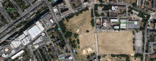 A Google Map Of The Area