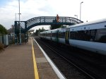 A Class 377 Stops And Collects Passengers