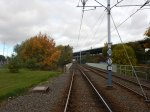 Looking North From Meadowhall South Tram Stop - The Chord Goes Right Off This Line