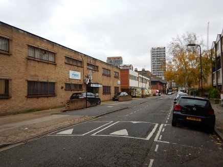 Walking Down Tottenham Road