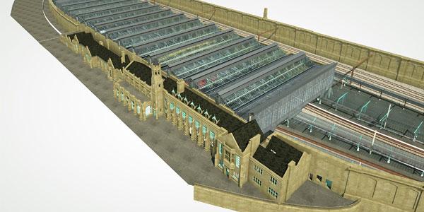 New Roof At Carlisle Station