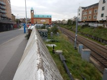 The North London Line From The Graham Road Bridge