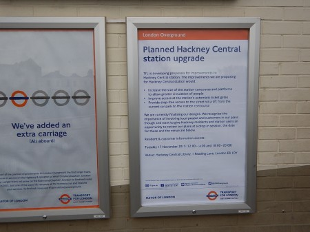 The Redevelopment Of Hackney Central Station