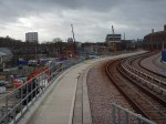 Looking West From Pudding Mill Lane Station