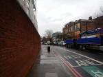 Traffic Alongside The Oval
