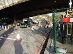 Cycle Superhighway Construction Under Waterloo Bridge