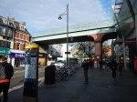 The Overground Crosses Brixton Road