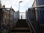 Climbing The External Staircase To Platform 1 At Brixton Station