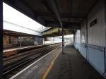 Platform 1 At Brixton Station