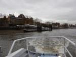 Leaving Putney Pier