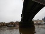 Under Battersea Railway Bridge