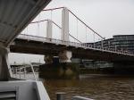 Approaching Chelsea Bridge