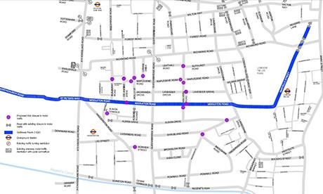 Car-Free Route Through London Fields