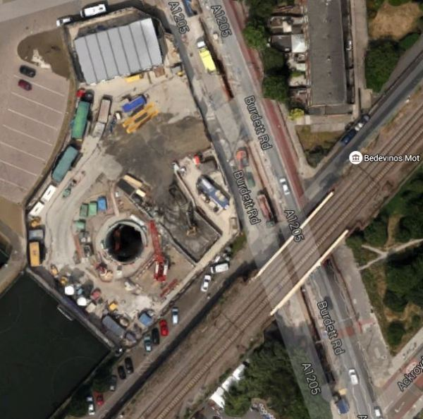Mile End Park Shaft Site