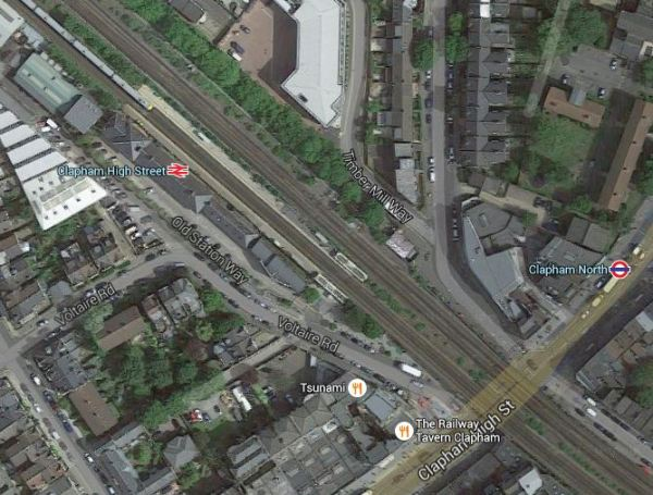 Clapham High Street And North Stations