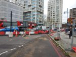 Traffic From New Kent Road At Elephant And Castle - 5th December 2015