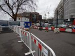 Crossing To The Centre At Elephant And Castle - 5th December 2015
