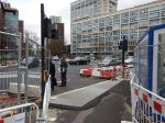 Traffic Leaving East Side At Elephant And Castle - 5th December 2015