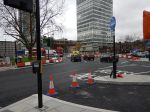 Ambulance Weaving Through At Elephant And Castle - 5th December 2015