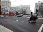 Traffic Outside Bakerloo Line Station At Elephant And Castle - 5th December 2015