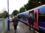 Arrival At Marlow Station