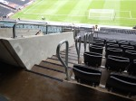 Note The Handrails And Padded Seats