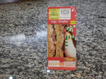 A Christmas Gluten-Free Sandwich From M & S