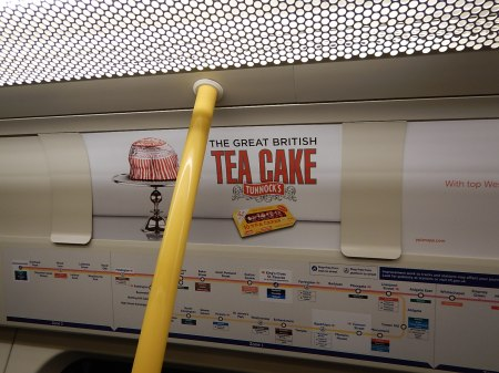 Is This Tube Advert Going To Upset Nicola?