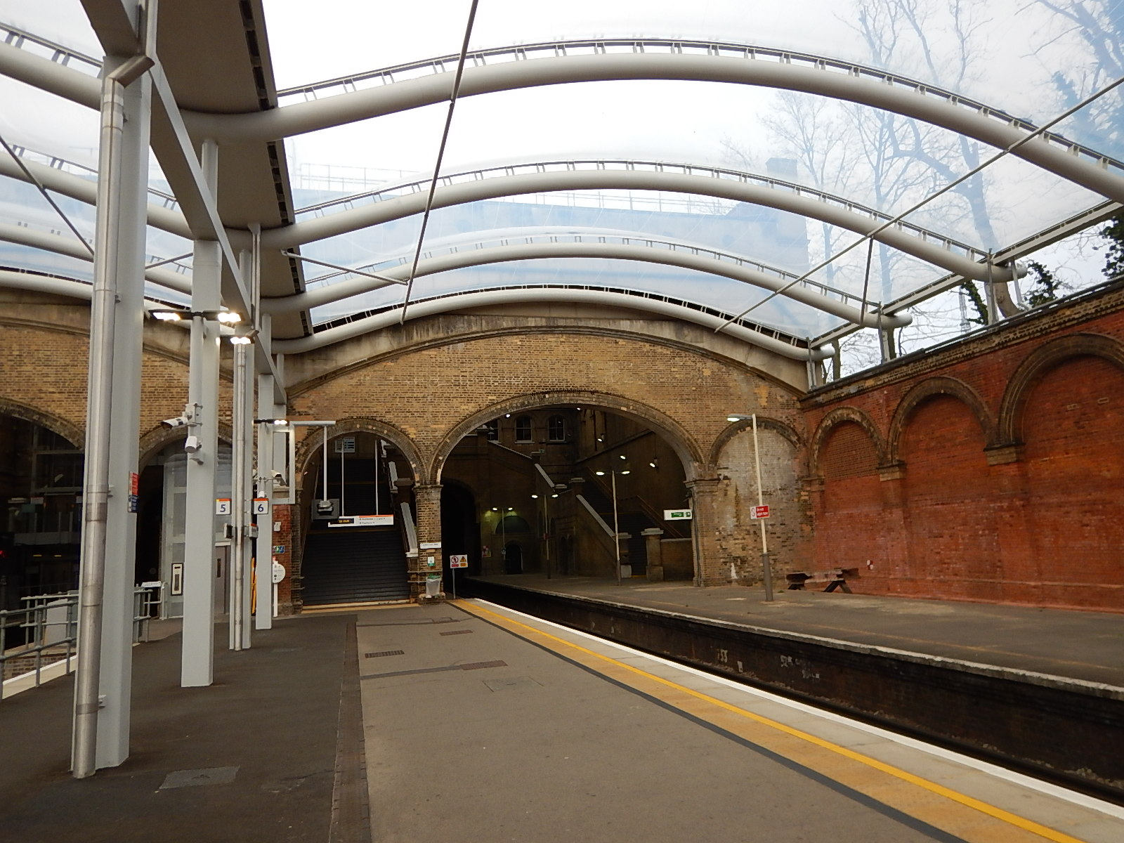 The New Roof At Crystal Palace Station 171 The Anonymous Widower