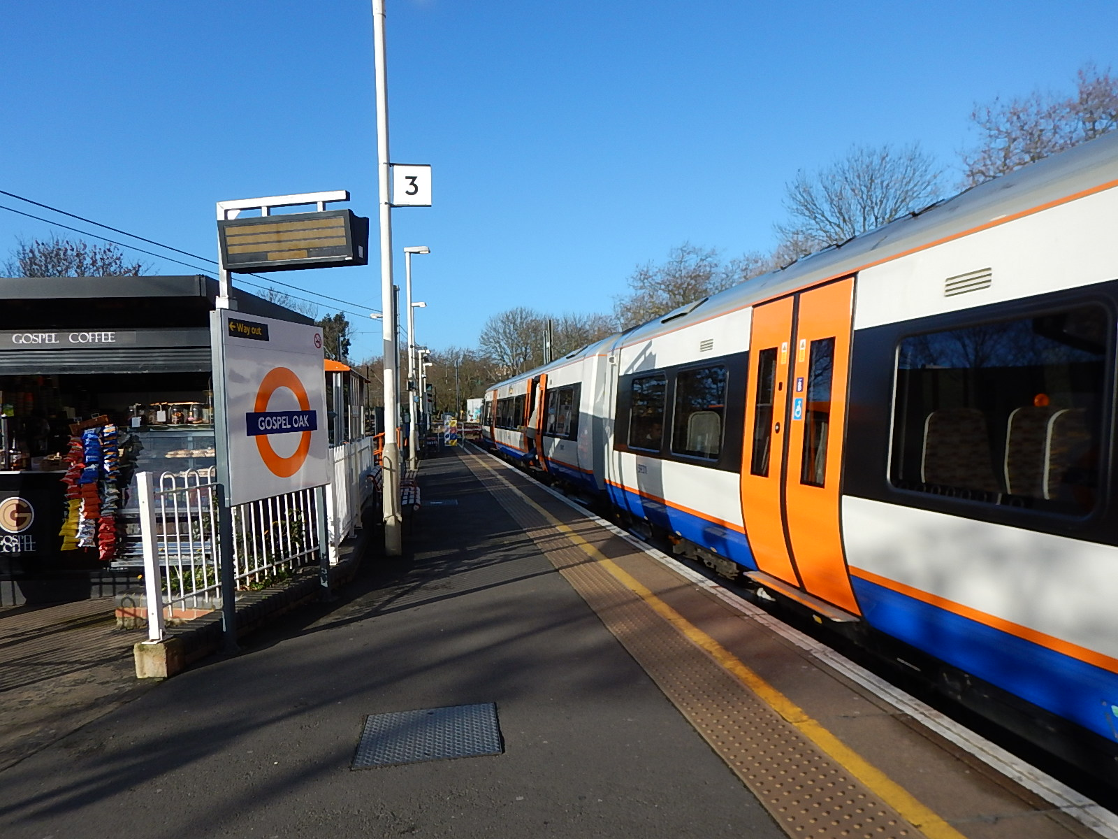 Work starts at gospel oak station 171 the anonymous widower