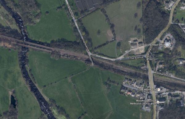 Apperley Bridge Station Location