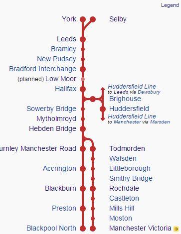 Calder Valley Line