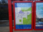 A Simple Map At Burnley Manchester Road Station