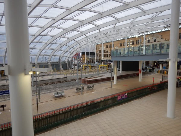 Manchester Victoria Station Is Nearly Finished