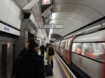The Southbound Northern Line At Bank Station