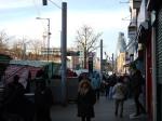 Along Whitechapel Road