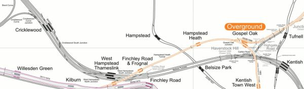 Lines Through Hampstead
