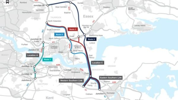 The Proposed Lower Thames Crossing