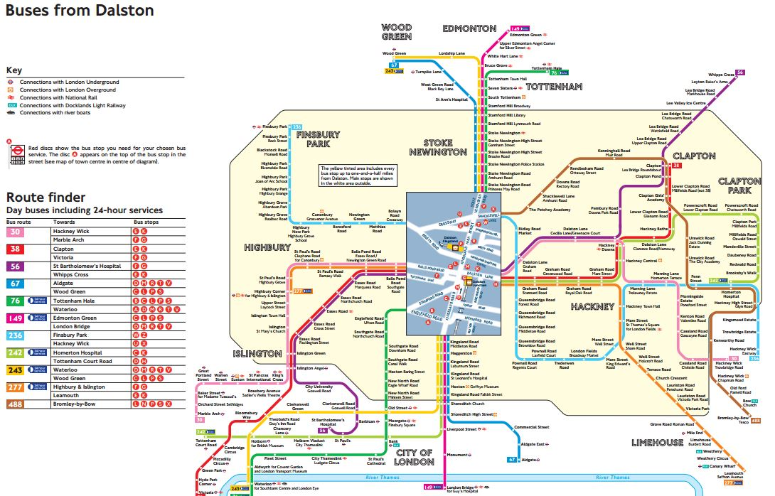 Bus Spider Maps Small Scale Connectivity To Crossrail « The Anonymous Widower Bus Spider Maps