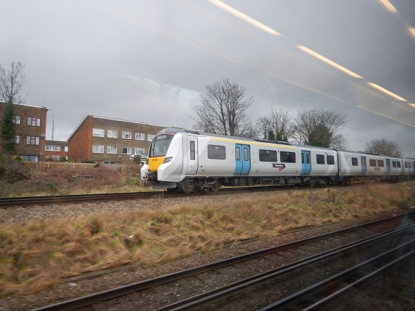 A Class 700 Train On Test