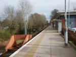 The Single Long Platform At Uckfield Station