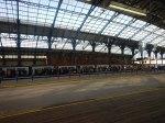 A Busy Thameslink Train Arrives