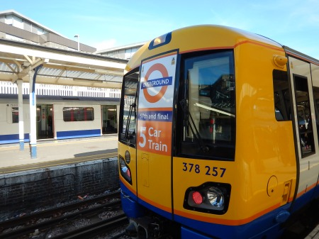 The Last Class 378 Train Has Been Lengthened